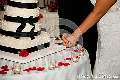 Cutting a Wedding Cake