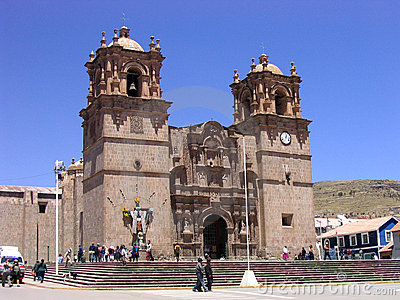Cuzco church