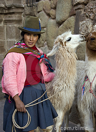 Cuzco - Peru Editorial Stock Photo