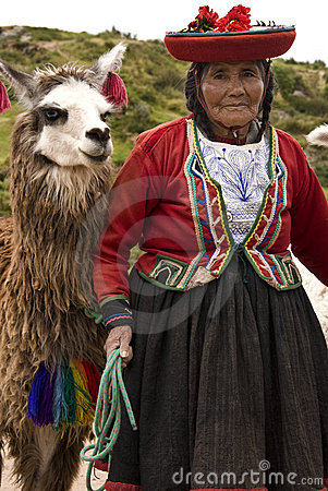 Cuzco in Peru Editorial Stock Photo