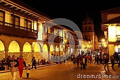 CUZCO IN PERU Editorial Image
