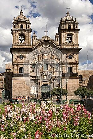 Cuzco - Plaza de Armas - Peru Editorial Image