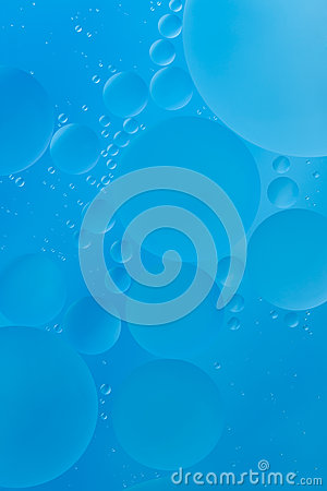 Cyan bubble background