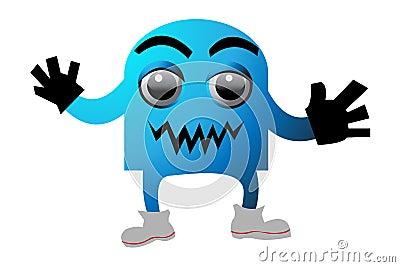 Cyan monster