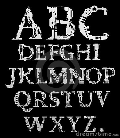 Cyber alphabet
