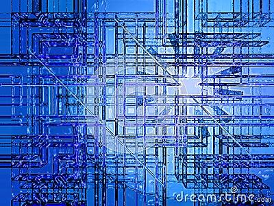 Cyber-blue