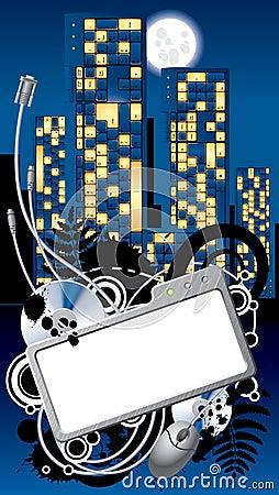 Cyber City banner