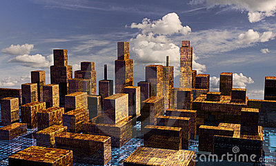 Cyber City panorama