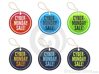 Cyber Monday Sale Tags