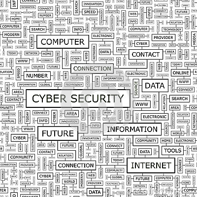 Cyber Security Stock Image Image 36009151