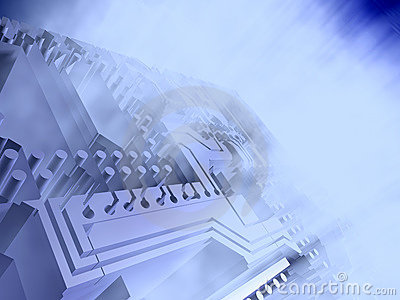 Cyberspace Royalty Free Stock Photography - Image: 16663767