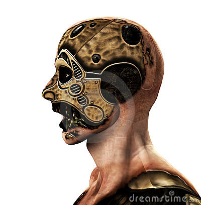 The Cyborg Stock Photography - Image: 9756362