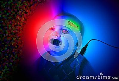 Cyborg baby
