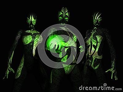 Cyborg battle group