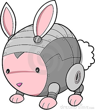 Cyborg bunny rabbit