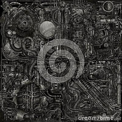 Cyborg grunge parts