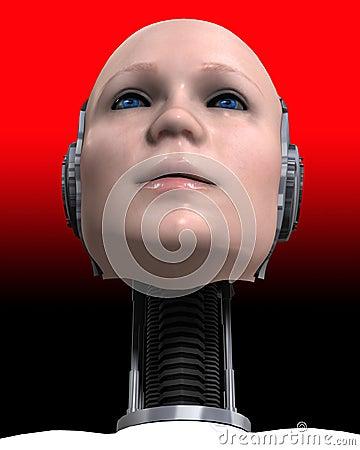 A Cyborg Head 3