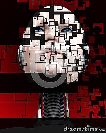 A Cyborg Head 4