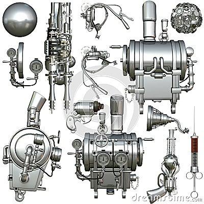 Cyborg Parts