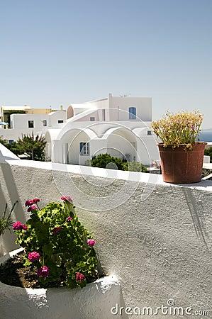 Cyclades architecture greek island santorini