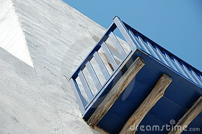 Cycladic balcony
