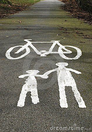 Cycle Lane Warning