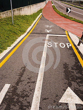 Cycle and Pedestrian Lane
