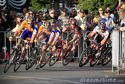 Cycle Race - Tour Down Under Editorial Photo