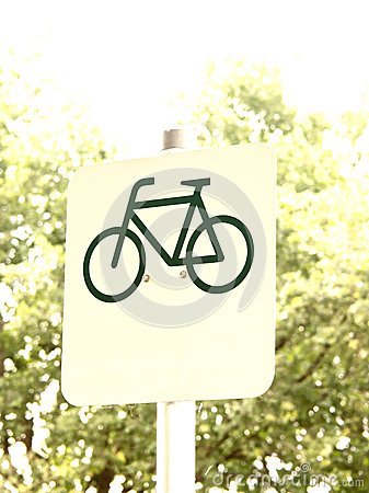 Cycle route sign (8)