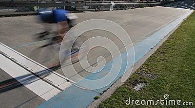Cycle sprint winner