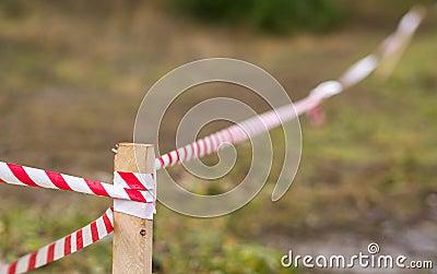 Cyclecross race barrier