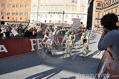 Cycling competition Editorial Stock Photo