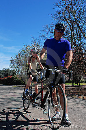 Free Cycling Family Stock Photo - 2174370