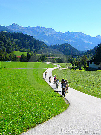 Free Cycling In The Country Royalty Free Stock Image - 537066