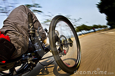 Cycling Motion Speed