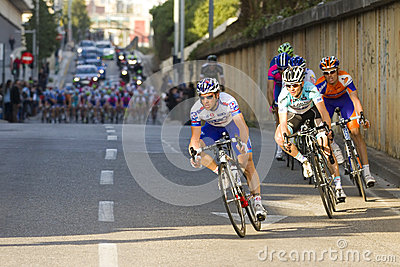 Cycling race Editorial Stock Image