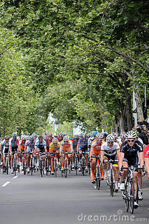 Cycling Race - Herald Sun Tour Editorial Stock Photo