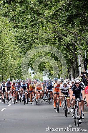 Cycling Race - Herald Sun Tour Editorial Stock Photo