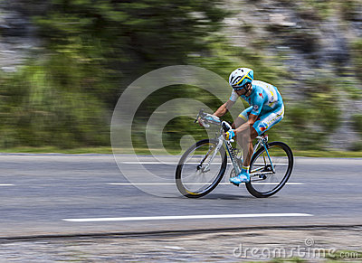 The Cyclist Alexey Lutsenko Editorial Image