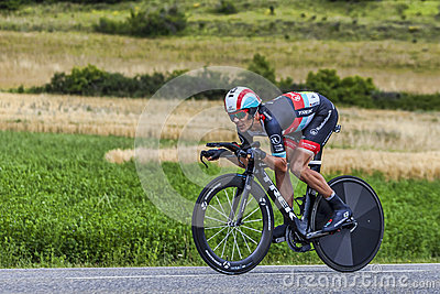 The Cyclist Andreas Kloden Editorial Stock Image