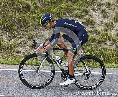 The Cyclist Andrey Amador Editorial Photo
