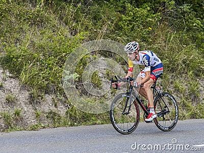 The Cyclist Bart De Clercq Editorial Stock Photo