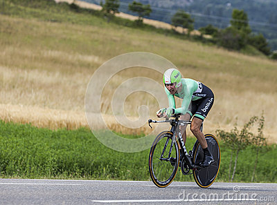The Cyclist Bauke Mollema Editorial Stock Photo