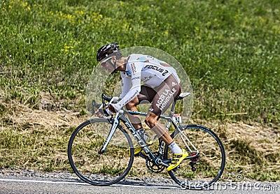 The Cyclist Blel Kadri Editorial Stock Image