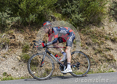 The Cyclist Brent Bookwalter Editorial Stock Image