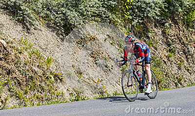 The Cyclist Brent Bookwalter Editorial Image