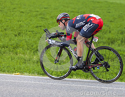 The Cyclist Cadel Evans Editorial Photography
