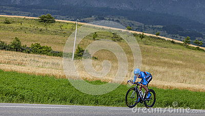 The Cyclist Daniel Martin Editorial Stock Photo