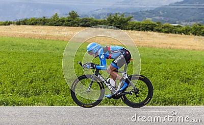 The Cyclist Daniel Martin Editorial Image