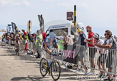 The Cyclist Daniel Martin Editorial Stock Image